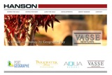 Website design for Hanson Property